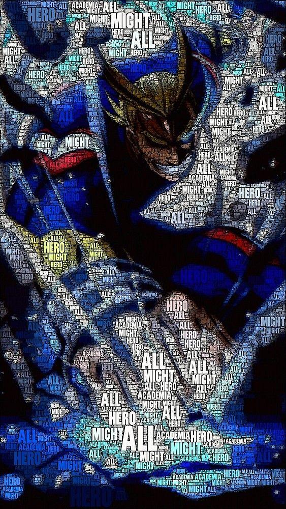 All Might – Boku no Hero Academia   My Hero Academia by QShiro