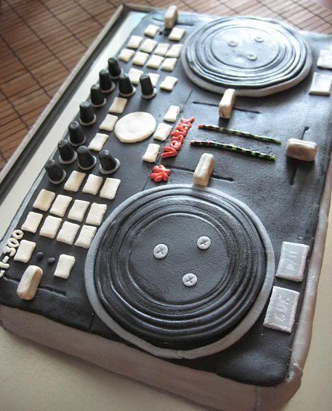 DJ cake - VCI-300 - Ocelan bites