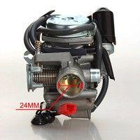 four stroke carburetor auto carb 150cc gy6 atv go kart roketa taotao bore 24mm condition: 100%
