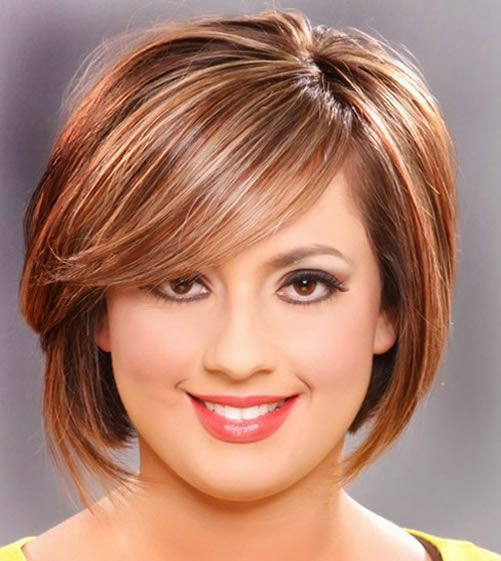 Cute Short Haircut Styles For Round Faces Females Women Healths And Fashion Pinterest Best