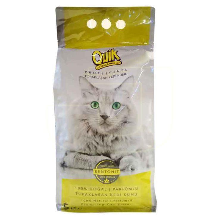 İçeriğinde kullanılan hammaddeleri kimyasal madde içermeyen, mis kokulu kedi kumu!