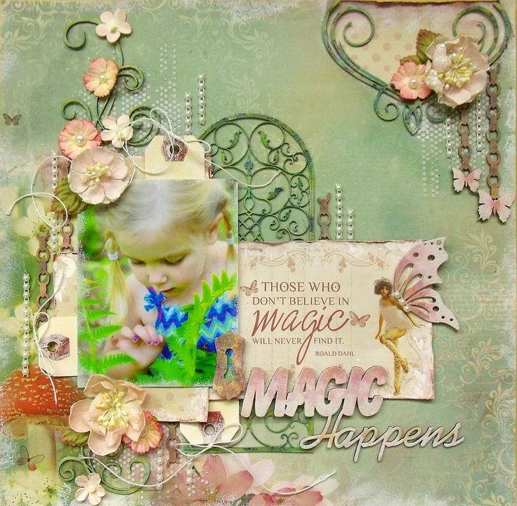 Magic Happens (scrap-utopia) - Scrapbook.com