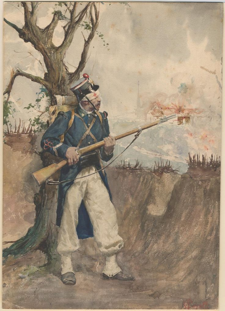 Piedmontese Infantryman, 1866