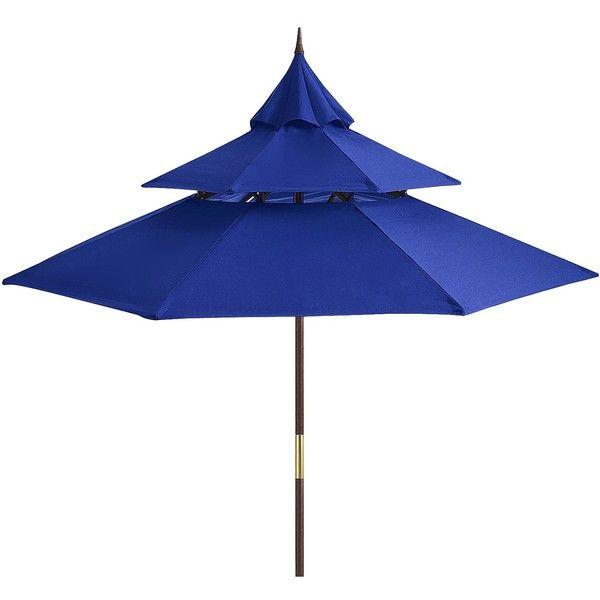Attractive Pier 1 Imports Pagoda Umbrella ($170) ❤ Liked On Polyvore Featuring Home,  Outdoors