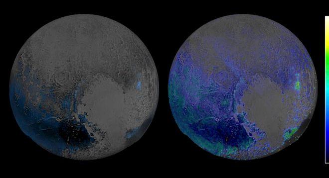 La nave 'New Horizons' halla extensas reservas de agua helada en Plutón | Ciencia | EL MUNDO