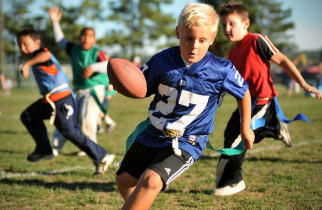 5 Essential Quality Develop In Your Child By Playing Flag Football Flag Football Youth Flag Football Football