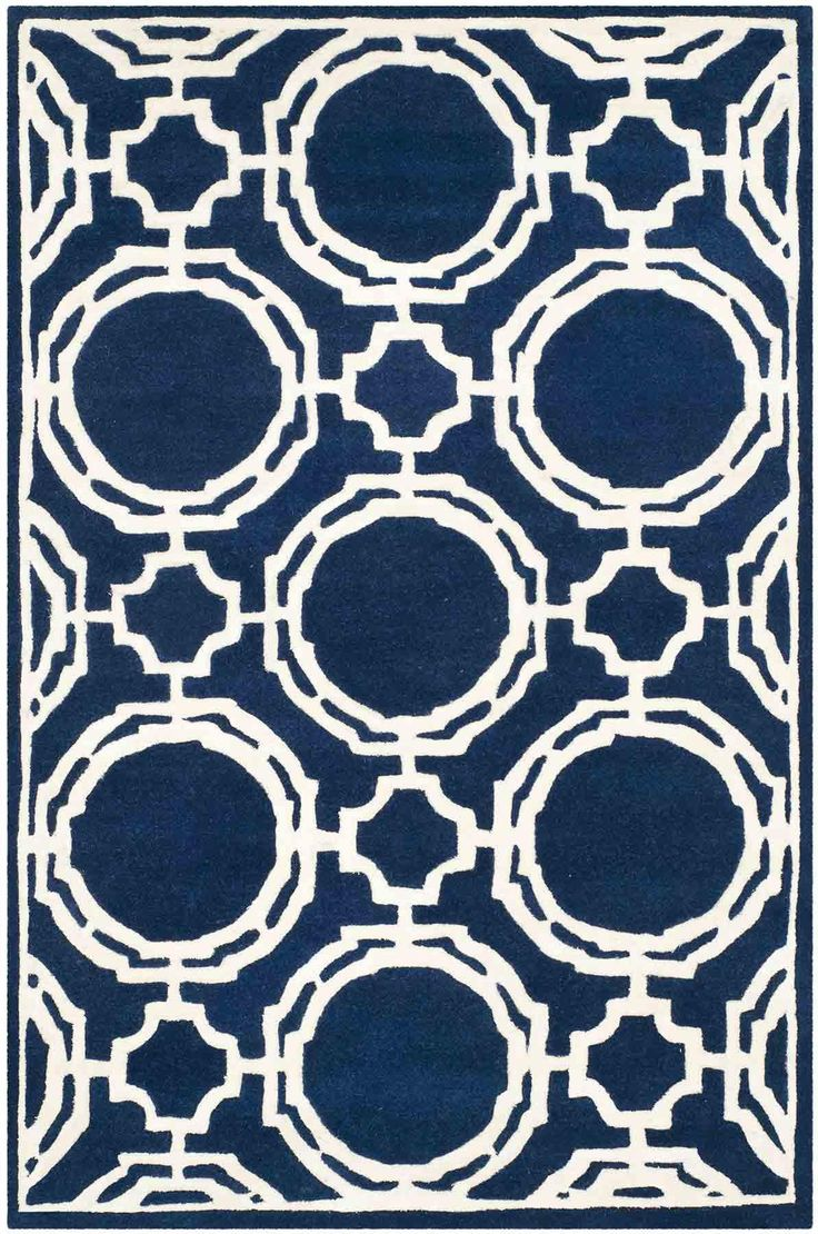 CHT767C Rug from Chatham collection.  A timeless quatrefoil motif makes a global…