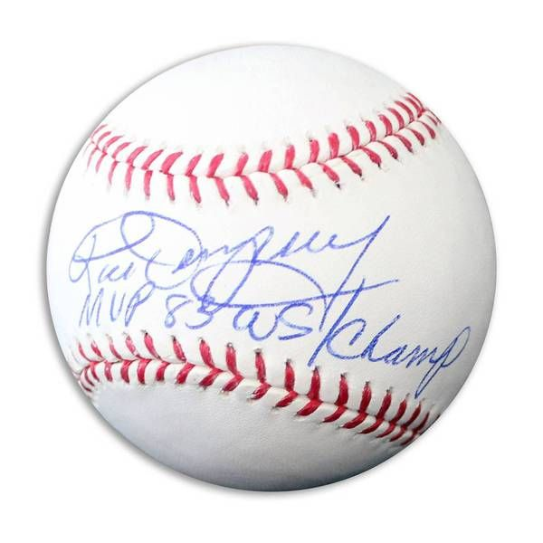 "Rick Dempsey Autographed Official Major League Baseball Inscribed """"MVP 83 WS/Champ"""""