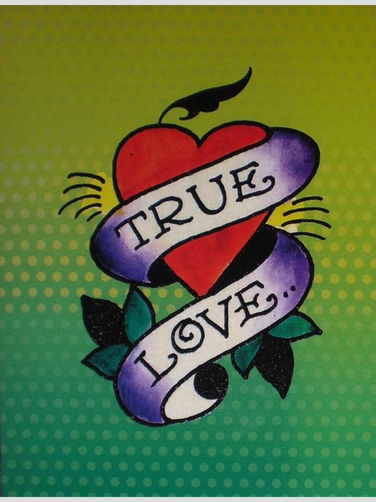 True Love by Ed Hardy