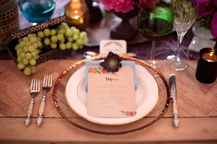 Inspired by This Bohemian Rehearsal Dinner Idea - Inspired By This