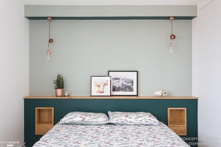 R novation d 39 un appartement des ann es 60 de 100m2 projet r alis en 3 mois pendant l 39 t - Deco chambre annee 60 ...