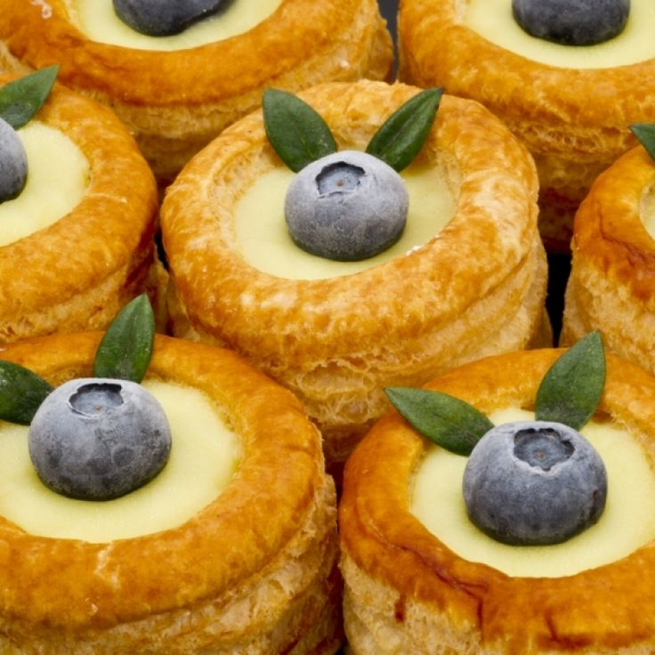 This recipe combines a delicious puff pastry with the creamy portuguese lemon custard.. Portuguese Custard Vol au Vents Recipe from Grandmothers Kitchen.