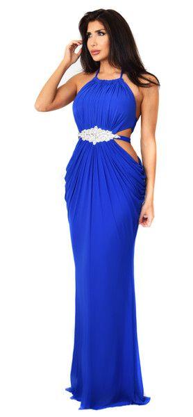 Giovanna Royal Blue Dress