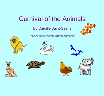 Carnival of the Animals listening lesson