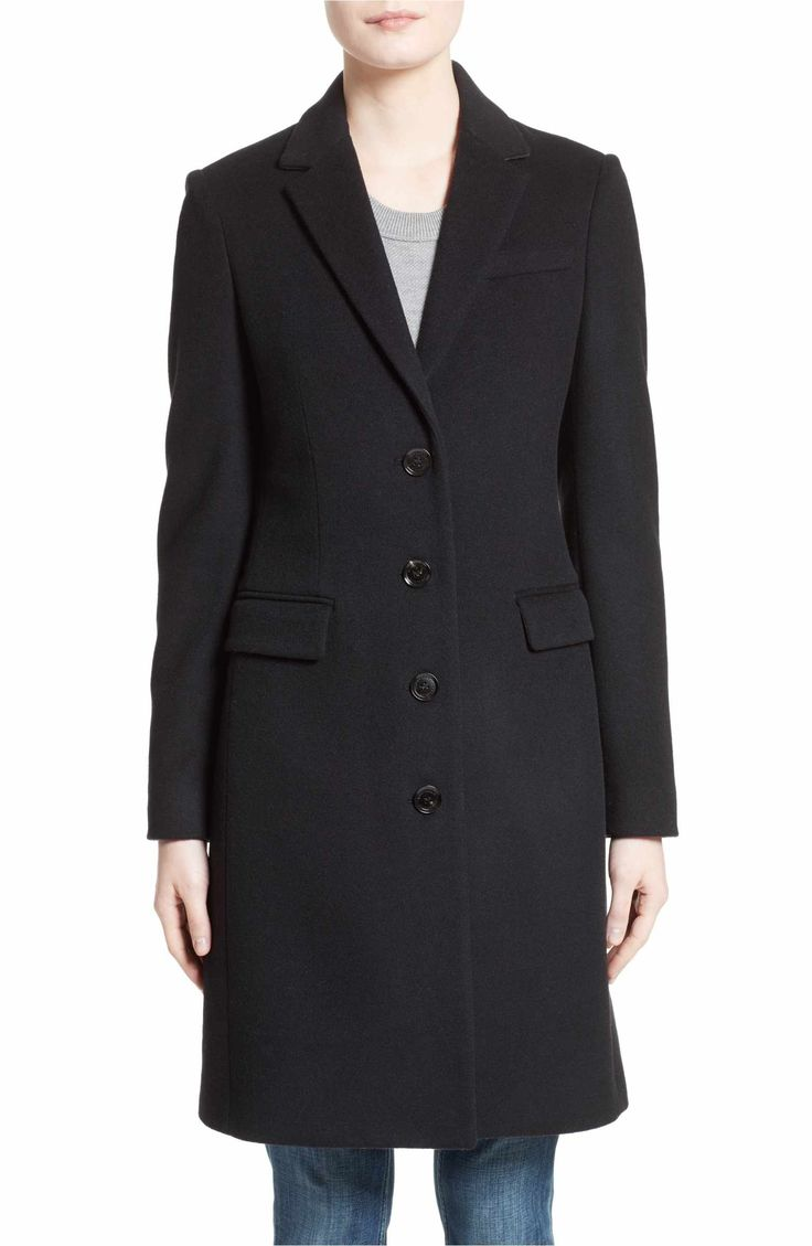 Main Image - Burberry Sidlesham Wool & Cashmere Coat ($1795)