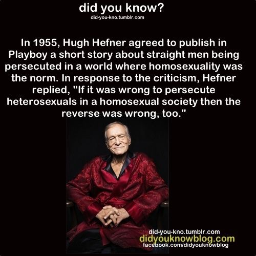 Hugh Hefner Gay 13