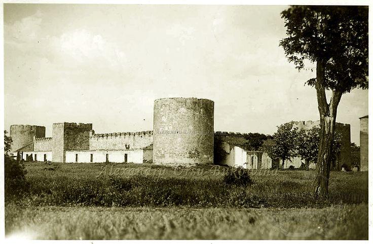 Plasa Bulboaca. Oraşul Tighina. Cetatea lui Ștefan cel Mare.