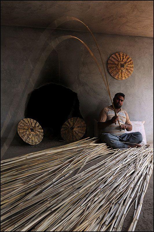 Basket maker, Mersin, Turkey