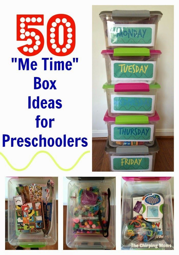 50 Busy Box Ideas for Preschoolers    The Chirping Moms