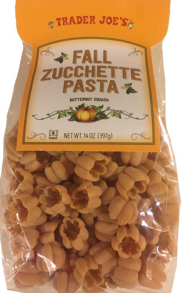 Trader Joe S Fall Zucchette Pasta Pasta Nutrition Fall Recipes Trader Joes