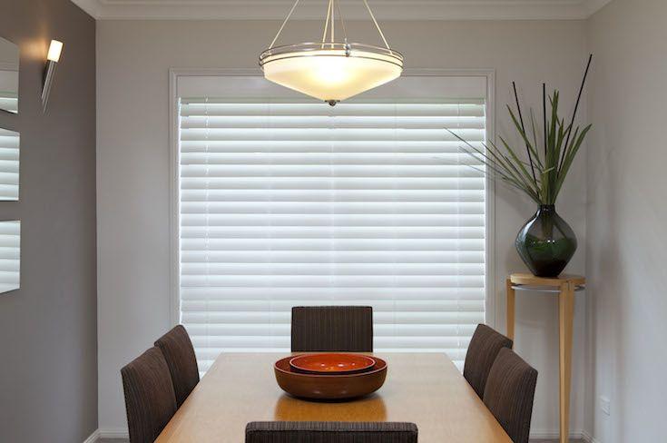 Shutter Blinds - White #blinds #home #decor