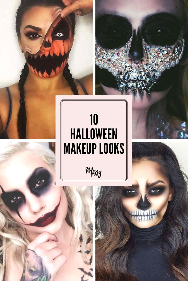 Halloween Ideas 2019 Makeup.10 Halloween Makeup Looks To Give You All The Spooky Inspo
