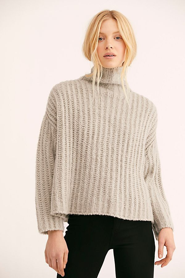 f9a4d2c4dc773b Free People Fluffy Fox Sweater to stay warm and fashionable this winter.   winter