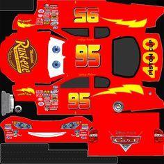 Rayo McQueen 1 Imprimible recortable