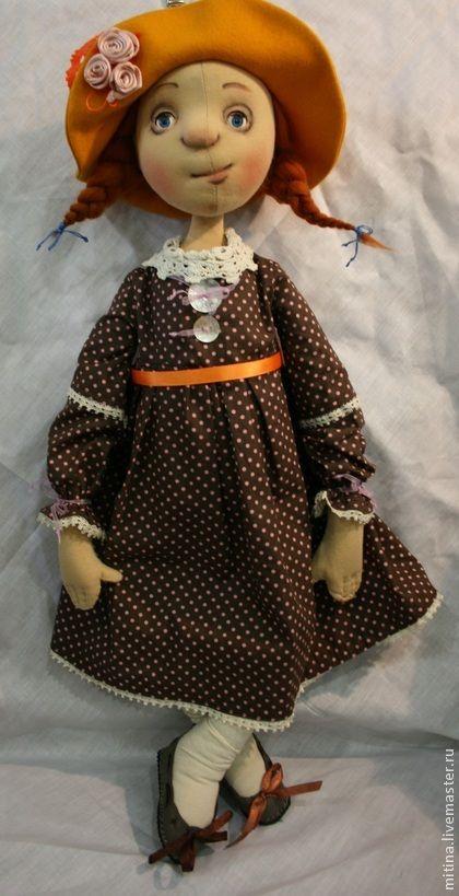 """Человечки ручной работы. Ярмарка Мастеров - ручная работа Авторская кукла """"Солнечное настроение"""". Handmade."""