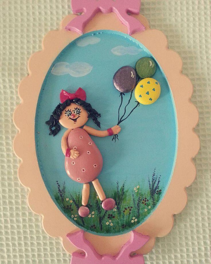 Kızıma doğum günü hediyem....ortak yapım prensesle.....♡♡♡ #elemeği #taşboyama…