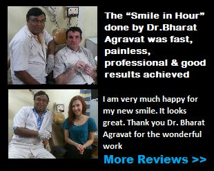 Cosmetic implant dentist reviews ahmedabad, India
