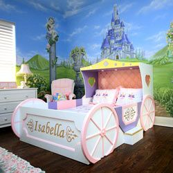 Enchanting Princess Carriage Bed Theme Beds - aBaby.Com