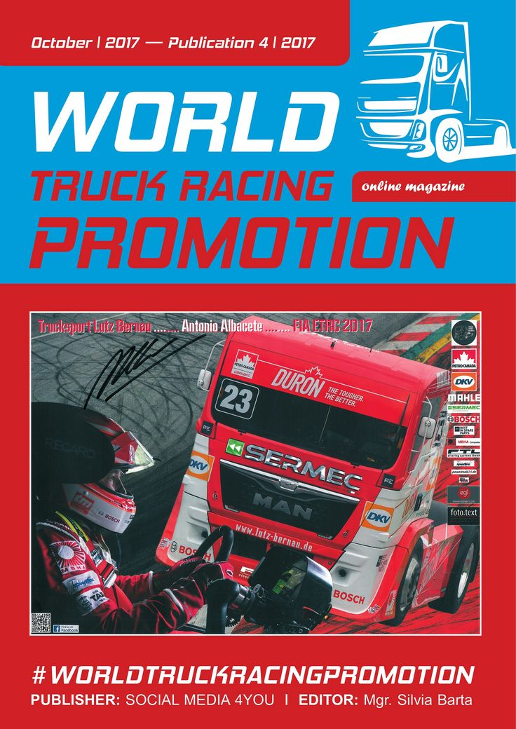 https://flic.kr/s/aHsm53wV3a | WORLD TRUCK RACING PROMOTION - October 2017 | issuu.com/worldtruckracingpromotion/docs/ct_rijen_world_t...