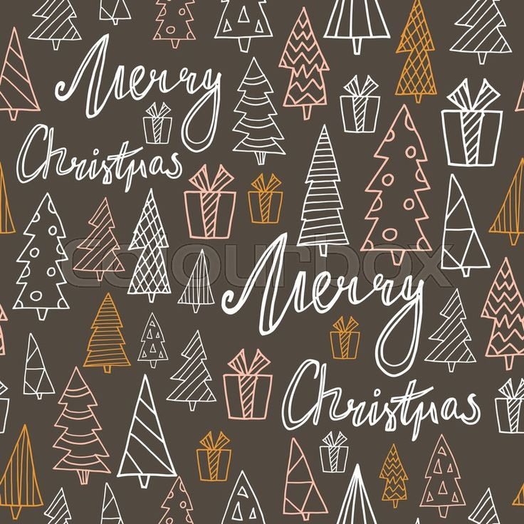 Christmas pattern, vector graphic