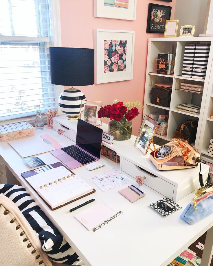 Home Office Decor Ideas For A Work Effective Office White Office