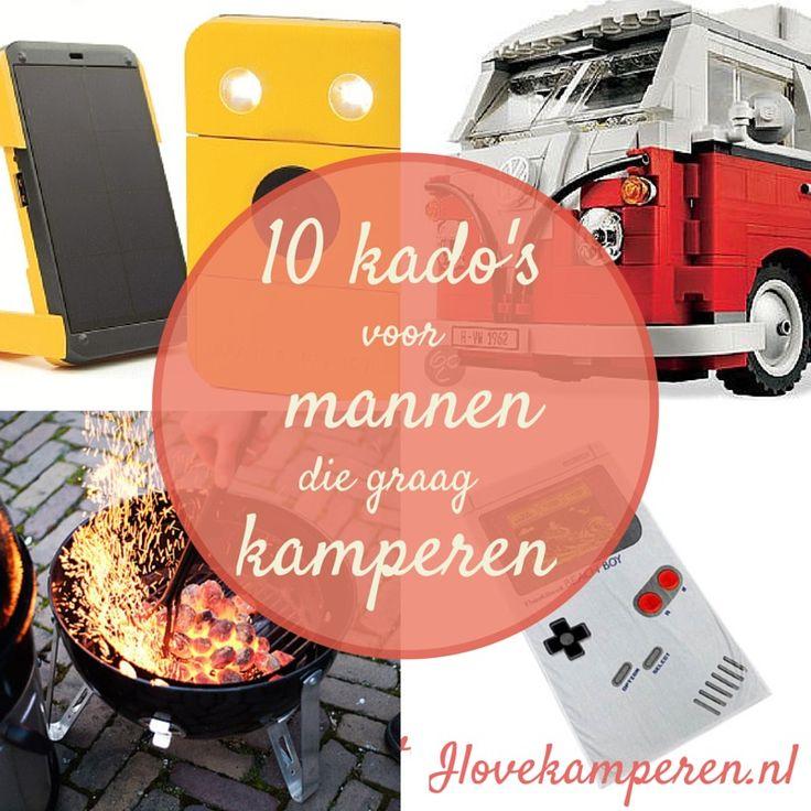 10 kado's voor mannen die graag kamperen! I love kamperen blog. #kamperen #kado #camping #caravan