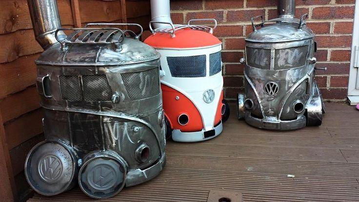 VW Campervan Logburners