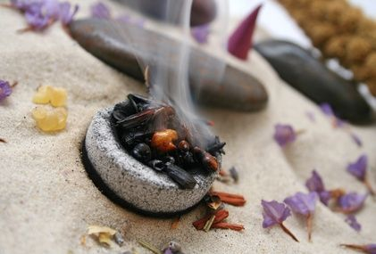 recipes on how to make a few different types of incense