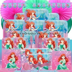 The Little Mermaid Prestige Party Pack