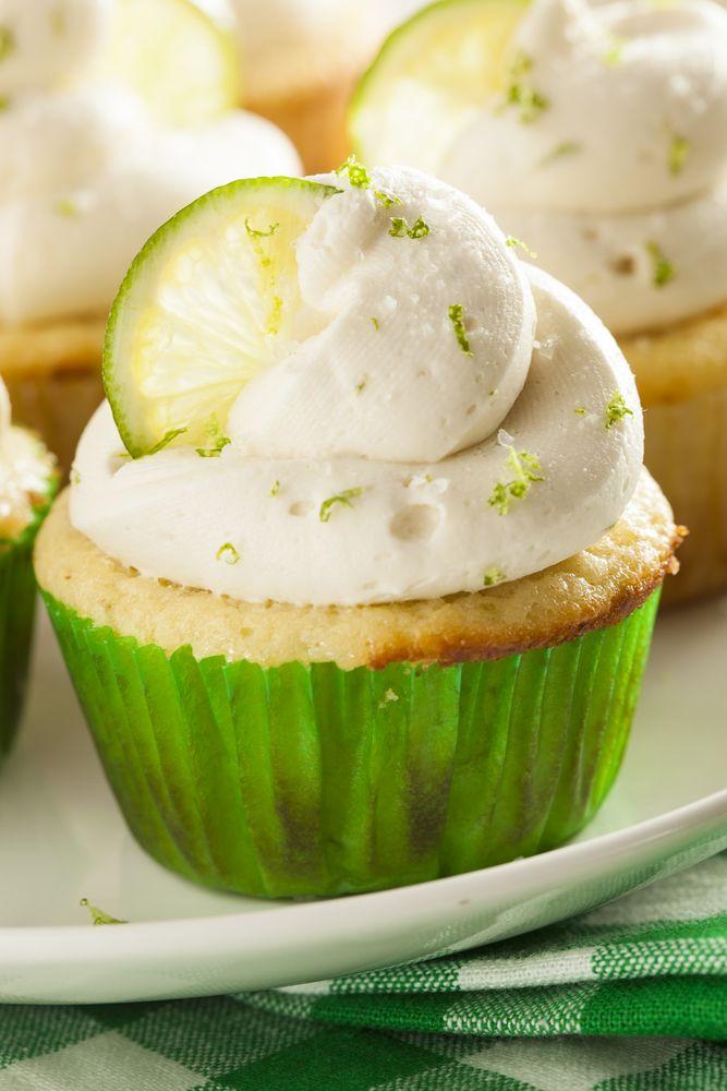 bloemloze citroencupcakes - Powered by @ultimaterecipe