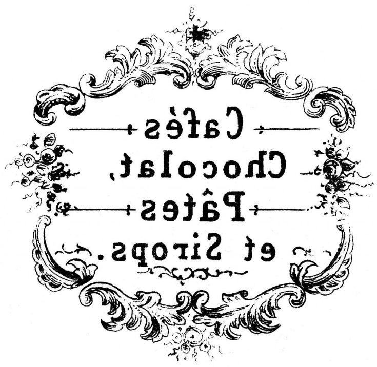 Винтажные картинки для распечатки с итальянскими надписями