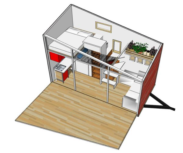 Home Design Software Sketchup: 17 Best Images About Tiny Home Ideas On Pinterest