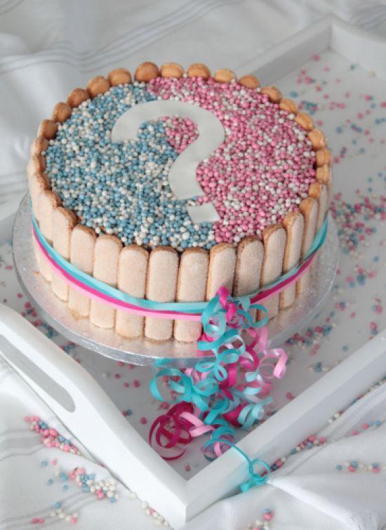 Geboorte cake