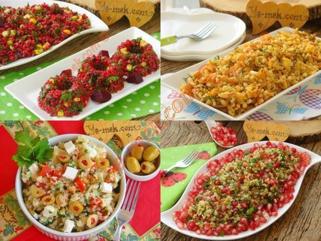 Bulgurlu Misafir Salataları Resimli Tarifi - Yemek Tarifleri
