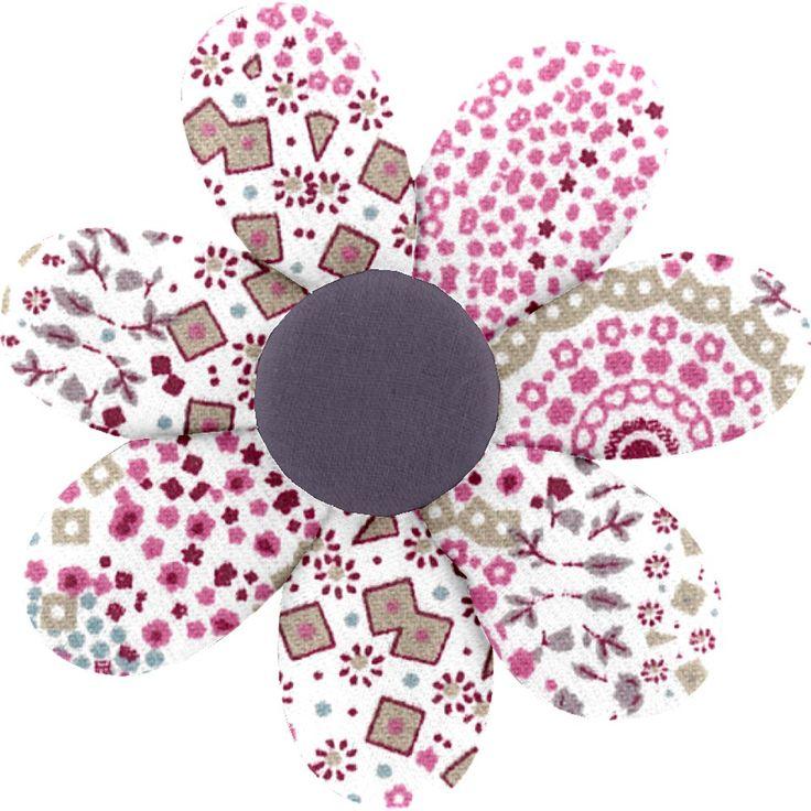 Barrette+fleur+marguerite+rosace BARRETTES Papa pique
