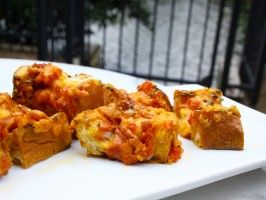 Pimento Cheese Toast with Ham Hocks : Recipes : Cooking Channel