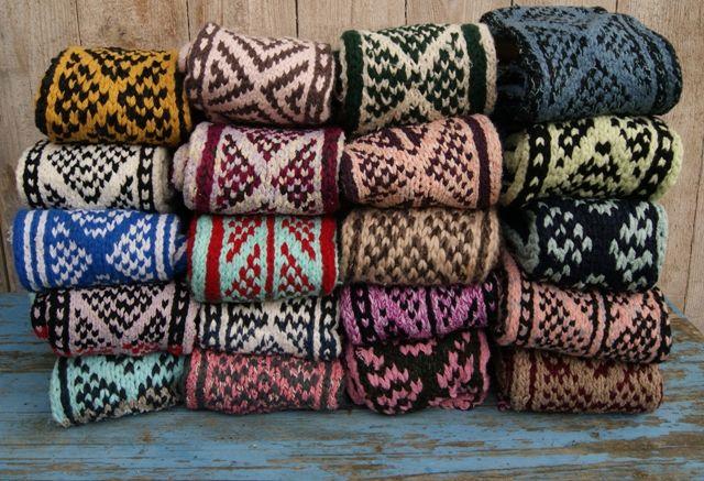 Mooie Afghan Slipper Socks - rechtstreeks uit Afghanistan! Prijs €14,50