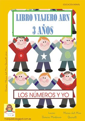 Un Mar de ideas para la Educación Infantil: LIBRO VIAJERO 3 AÑOS. MATERIAL ABN