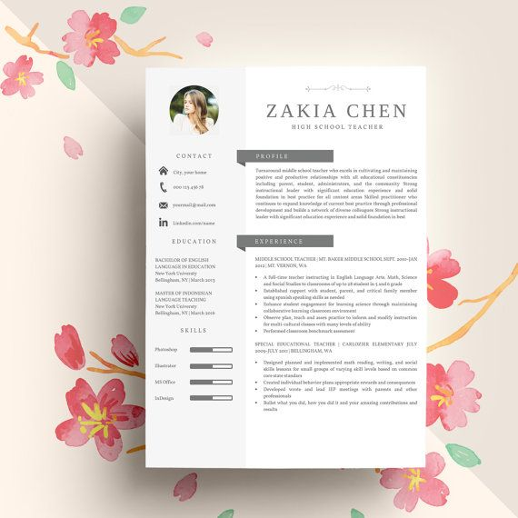 1000  ideas about professional resume template on pinterest