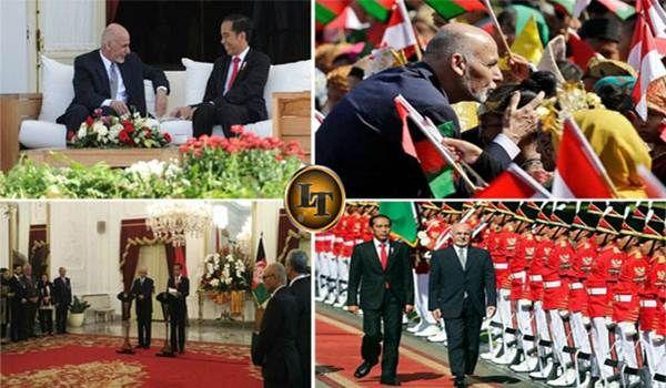 7 Fakta Menarik Kunjungan Presiden Afghanistan ke Indonesia